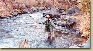 Fly Fishing The Red River in New Mexico